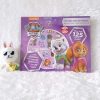 Satu Set Paw Patrol My First Case of Stories, activities, and stickers