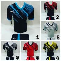 [ Puma 02 ] Baju Olahraga Jersey Bola Kaos Setelan Futsal Volly / Puma