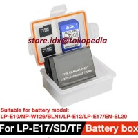 Kotak Baterai Battery Case Kamera DSLR Tahan Air / Waterproof