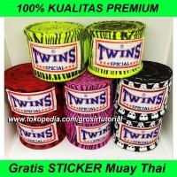 Handwrap Muaythai Merah Twins, Bandasi Boxing, Bandit Tinju Promo
