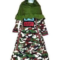 Diskon Pakaian Muslim Anak Baju Muslim Fila Army Gamis Fila Army Anak