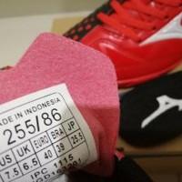 Sepatu Futsal Mizuno Wave Ignitus 4 Bright Red Black - Berkualitas