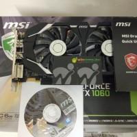 MSI Geforce GTX 1060 6GB DDR5 OC V1