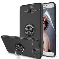 Samsung Galaxy J7 Prime Case Autofocus Invisible Iring TPU Soft Case - Hitam