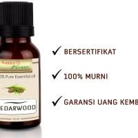 Happy Green Cedarwood Essential Oil (10 ml) - Minyak Kayu Cedarwood