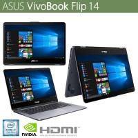 Laptop ASUS Transformer Flip TP410UF-EC069T i5-8250U MX130 2GB Win 10