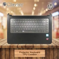 HP Tpu Cooskin Keyboard Protector/Keyboard Laptop/Pelindung Keyboard