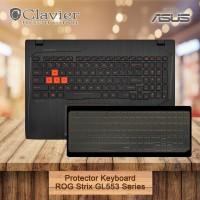 Keyboard Protector Cover Asus ROG Strix GL553VD GL553VE GL553VW Cooski