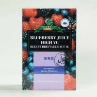 Blueberry juice green world /antioksidan / pemutih tubuh wajah tangan