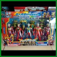 mainan anak action figure Ultraman monster set