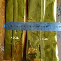 Pembungkus makanan aluminium foil ukuran KECIL (gold)