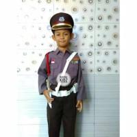 Baju Kostum Seragam Karnaval Anak Profesi Polisi usia 3 - 7tahun