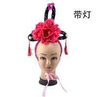 Bando Keke Sanggul Bunga Kostum Cosplay Chinese Princess Costume