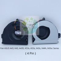 Fan Asus A43s K43 A43 53S K53S A53S K53SJ X43 X43S X43SC X44H series
