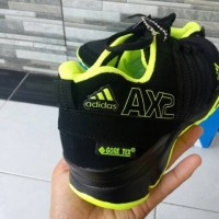 Sepatu sport pria ADIDAS AX2 HIJAU HITAM Hijau muda