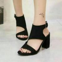 Sandal High Heels Wanita Hak Tahu SDH157