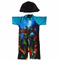 baju renang bayi transformer usia 6bln - 24bln baju renang anak