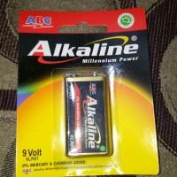 Alkaline Baterai ABC 9V 9 Volt