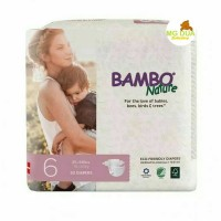 Bambo Nature Pampers Tape XL 6 isi 22s - Diaper Organic