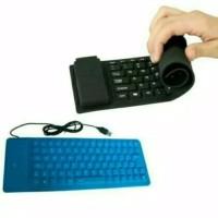 Keyboard flexible mini USB keyboard karet