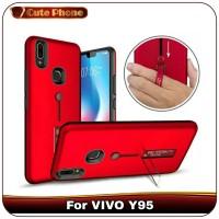 Casing VIVO Y95 Y 95 Grip Ring Armor Hard Soft Case Hardcase