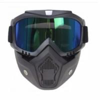 google mask googles maskee kacamata masker gelm cross klx topeng helm