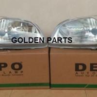 Head Lamp Lampu Depan Toyota VIOS 2002 2003 2004 Original
