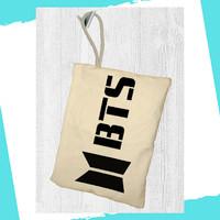 BTS Tas Pensil Kosmetik Bag Pouch Kpop Stuff Alat Tulis - L10