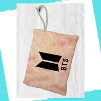 BTS Tas Pensil Kosmetik Bag Pouch Kpop Stuff Alat Tulis - L2