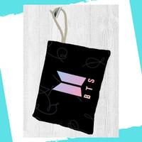 BTS Tas Pensil Kosmetik Bag Pouch Kpop Stuff Alat Tulis - L3
