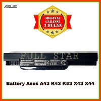 Baterai Original Laptop Asus A43 A43S A43SA A43SD A43SJ A43SM A43SV