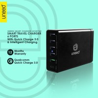 Smart Travel Charger 6 Port QC 3.0 UNEED UCH07Q3 Casan carger adaptor