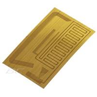 Stiker Antena Penguat Sinyal Smartphone - Silver / Gold