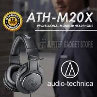 Audio Technica ATH-M20X Headphone BLACK ORIGINAL I Garansi Resmi