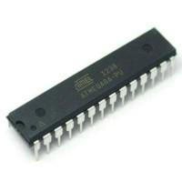 MCU Atmel ATMEGA8 model DIP guna untuk Microcontroller, ATMEGA8-16PU.
