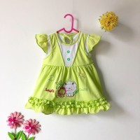 Baju bayi perempuan 3 bulan - 6 bulan/ Lucu, adem, nyaman dipakai