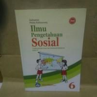 Buku ILMU PENGETAHUAN SOSIAL Untuk SD/MI kelas 6 BSE