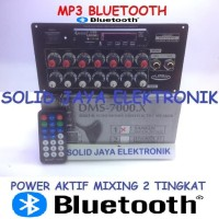 KIT POWER DMS7000 SPEAKER AKTIF ACTIVE MP3 BLUETOOTH SANKEN DMS-7000