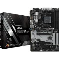 ASRock B450 Pro 4 (AM4, AMD Promontory B450, DDR4, USB3.1, SATA3