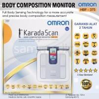 promo alat kesehatan lengkap Omron HBF 375 atau Timbangan Pengukur k