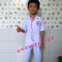 Baju / setelan / Kostum Karnaval Profesi Dokter anak