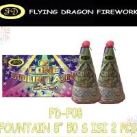 KEMBANG API AIR MANCUR/FOUNTAIN 8 50 S   FD-F08 8 50 S