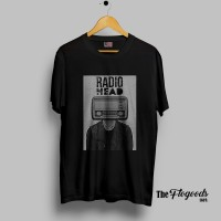 Kaos Band RADIOHEAD Original NSA / GILDAN - 7