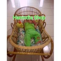 Termurah Ayunan Bayi Dari Rotan/Box Bayi Rotan