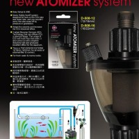 UP AQUA NEW ATOMIZER SYSTEM INLINE SMALL 12 INCH / CO2 AQUASCAPE
