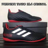 sepatu futsal adidas predator 18.4 black red ic original
