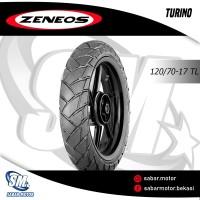 Ban Zeneos Turino 120/70-17 Tubeless Ban Depan NINJA CBR GSX R25
