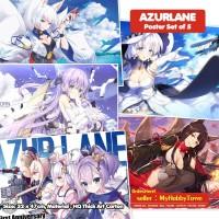 Poster Anime Azurlane Set Of 5