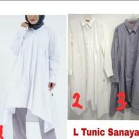 Elzatta L Tunik Sanaya baju muslim ORIGINAL