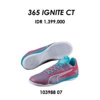 Sepatu futsal / putsal footsal puma original 365 IGNITE CT pink biru